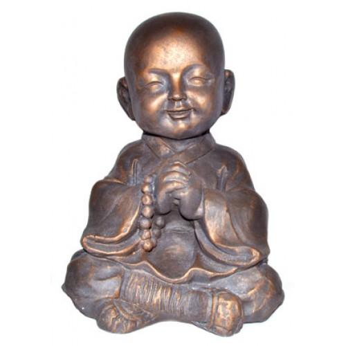 """12 1/2"""" Praying Monk"""