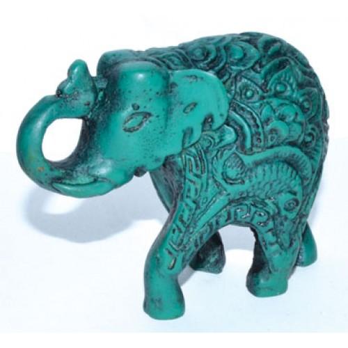 """2 1/4"""" Elephant turquoise"""