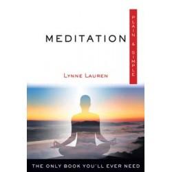 Meditation plain & simple by Lynne Lauren