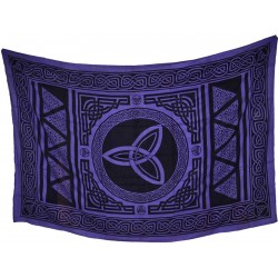 """Triquetra tapestry 72"""" x 108"""""""