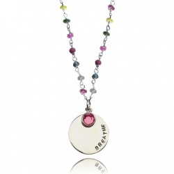 BREATHE Tourmaline Necklace for Understanding