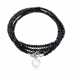 Love Bracelet with Heart to Remind You of the Importance of Self Love