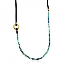 Ocean Blue Apatite Necklace for Humanity from the Serenity Collection